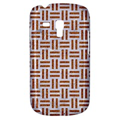 Woven1 White Marble & Rusted Metal (r) Galaxy S3 Mini