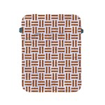 WOVEN1 WHITE MARBLE & RUSTED METAL (R) Apple iPad 2/3/4 Protective Soft Cases Front