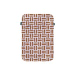 WOVEN1 WHITE MARBLE & RUSTED METAL (R) Apple iPad Mini Protective Soft Cases Front