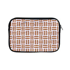 Woven1 White Marble & Rusted Metal (r) Apple Ipad Mini Zipper Cases