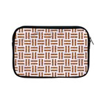 WOVEN1 WHITE MARBLE & RUSTED METAL (R) Apple iPad Mini Zipper Cases Front