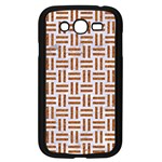WOVEN1 WHITE MARBLE & RUSTED METAL (R) Samsung Galaxy Grand DUOS I9082 Case (Black) Front