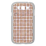 WOVEN1 WHITE MARBLE & RUSTED METAL (R) Samsung Galaxy Grand DUOS I9082 Case (White) Front