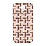 WOVEN1 WHITE MARBLE & RUSTED METAL (R) Samsung Galaxy S4 I9500/I9505  Hardshell Back Case Front