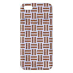 Woven1 White Marble & Rusted Metal (r) Iphone 5s/ Se Premium Hardshell Case