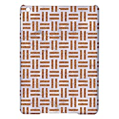 Woven1 White Marble & Rusted Metal (r) Ipad Air Hardshell Cases