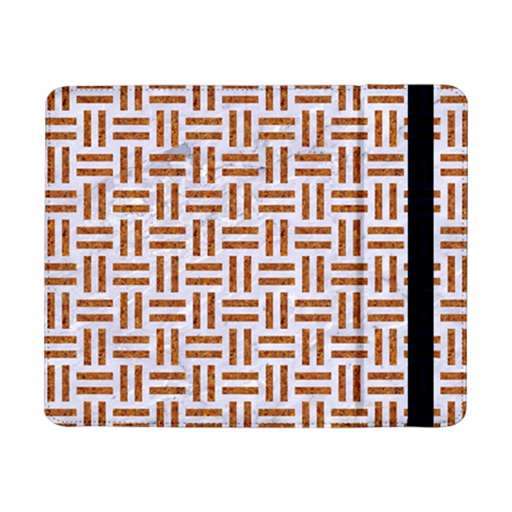WOVEN1 WHITE MARBLE & RUSTED METAL (R) Samsung Galaxy Tab Pro 8.4  Flip Case
