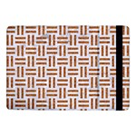 WOVEN1 WHITE MARBLE & RUSTED METAL (R) Samsung Galaxy Tab Pro 10.1  Flip Case Front