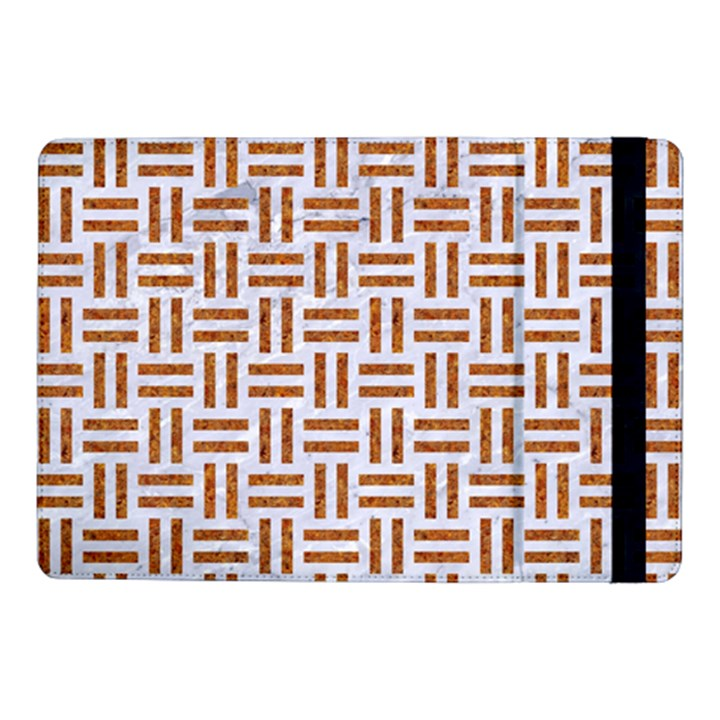 WOVEN1 WHITE MARBLE & RUSTED METAL (R) Samsung Galaxy Tab Pro 10.1  Flip Case