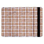 WOVEN1 WHITE MARBLE & RUSTED METAL (R) Samsung Galaxy Tab Pro 12.2  Flip Case Front