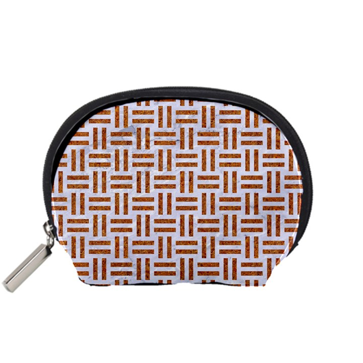WOVEN1 WHITE MARBLE & RUSTED METAL (R) Accessory Pouches (Small)