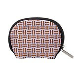WOVEN1 WHITE MARBLE & RUSTED METAL (R) Accessory Pouches (Small)  Back