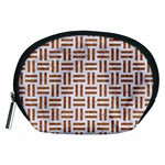 WOVEN1 WHITE MARBLE & RUSTED METAL (R) Accessory Pouches (Medium)  Front