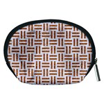WOVEN1 WHITE MARBLE & RUSTED METAL (R) Accessory Pouches (Medium)  Back