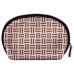 WOVEN1 WHITE MARBLE & RUSTED METAL (R) Accessory Pouches (Large)  Back
