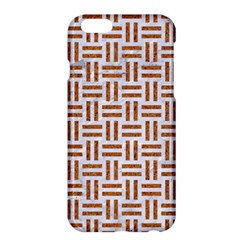 Woven1 White Marble & Rusted Metal (r) Apple Iphone 6 Plus/6s Plus Hardshell Case