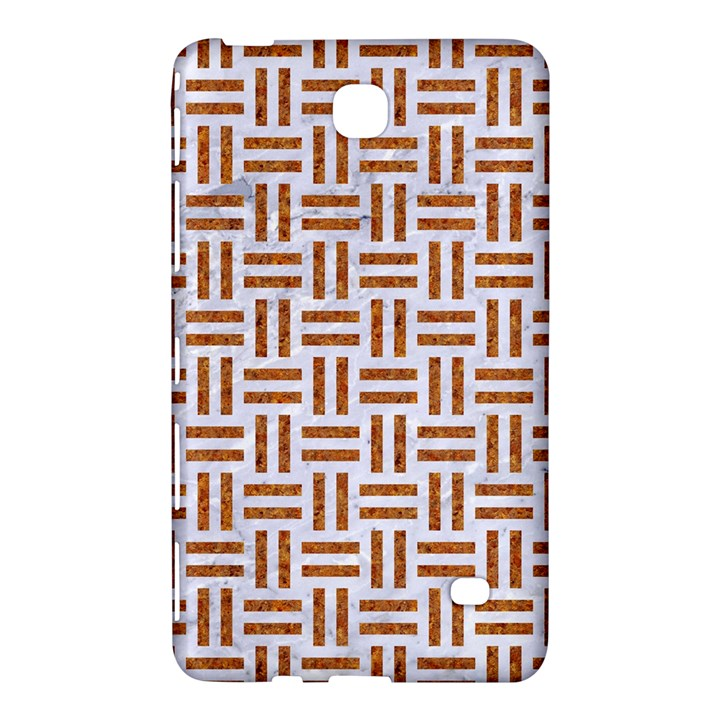 WOVEN1 WHITE MARBLE & RUSTED METAL (R) Samsung Galaxy Tab 4 (7 ) Hardshell Case