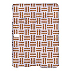Woven1 White Marble & Rusted Metal (r) Samsung Galaxy Tab S (10 5 ) Hardshell Case