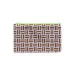 WOVEN1 WHITE MARBLE & RUSTED METAL (R) Cosmetic Bag (XS) Front