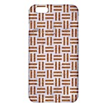 WOVEN1 WHITE MARBLE & RUSTED METAL (R) iPhone 6 Plus/6S Plus TPU Case Front