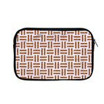 WOVEN1 WHITE MARBLE & RUSTED METAL (R) Apple MacBook Pro 13  Zipper Case Front
