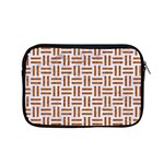 WOVEN1 WHITE MARBLE & RUSTED METAL (R) Apple MacBook Pro 15  Zipper Case Front