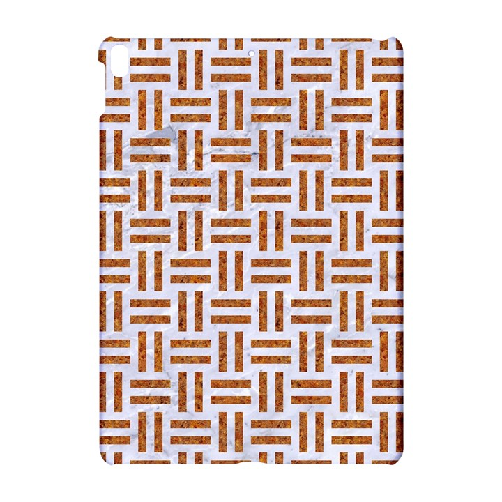 WOVEN1 WHITE MARBLE & RUSTED METAL (R) Apple iPad Pro 10.5   Hardshell Case