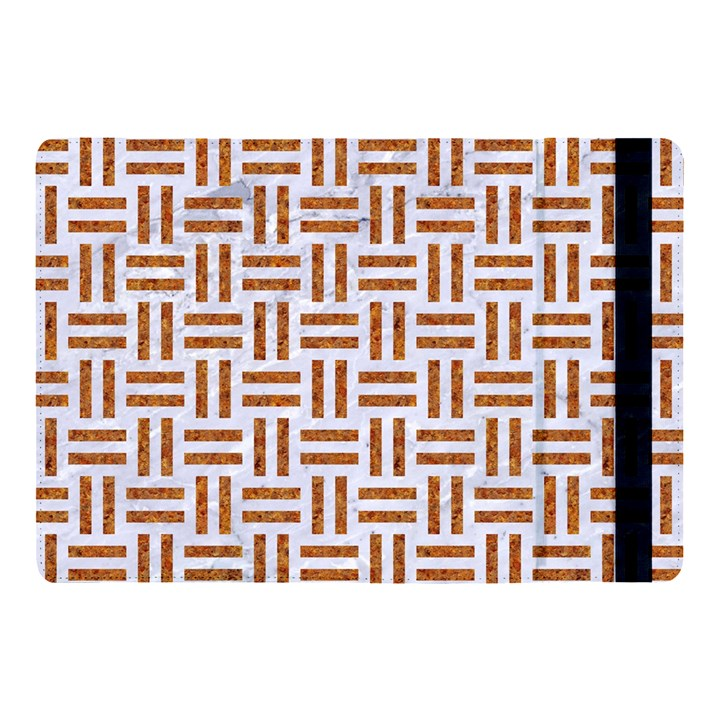 WOVEN1 WHITE MARBLE & RUSTED METAL (R) Apple iPad Pro 10.5   Flip Case