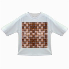 Woven1 White Marble & Rusted Metal Infant/toddler T Shirts