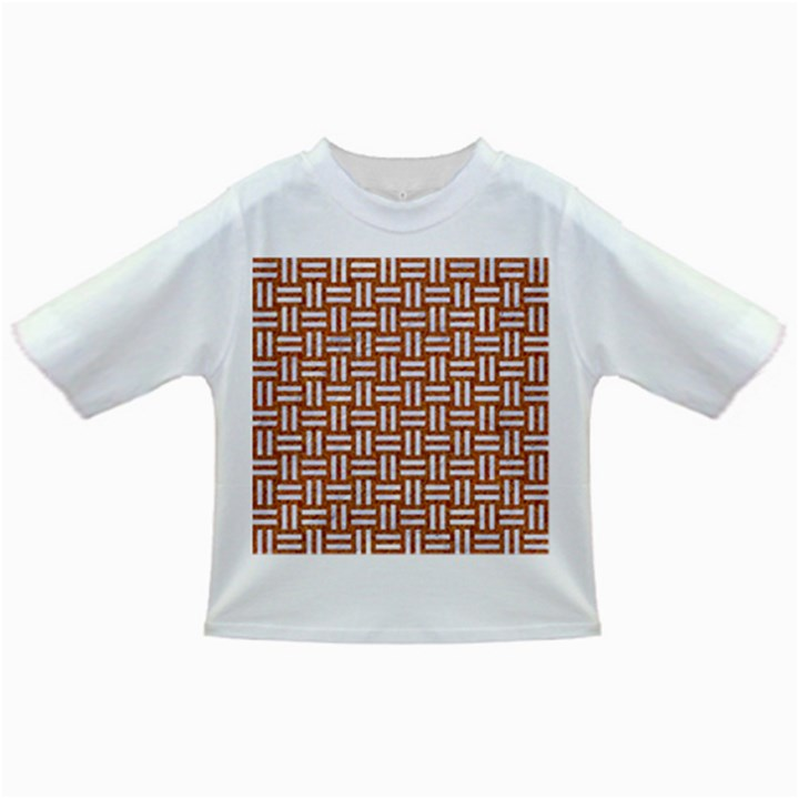 WOVEN1 WHITE MARBLE & RUSTED METAL Infant/Toddler T-Shirts