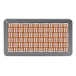 WOVEN1 WHITE MARBLE & RUSTED METAL Memory Card Reader (Mini) Front