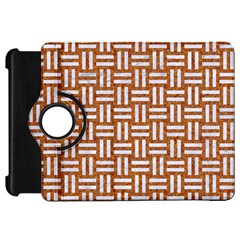 Woven1 White Marble & Rusted Metal Kindle Fire Hd 7