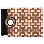 WOVEN1 WHITE MARBLE & RUSTED METAL Kindle Fire HD 7  Front