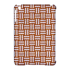 Woven1 White Marble & Rusted Metal Apple Ipad Mini Hardshell Case (compatible With Smart Cover)