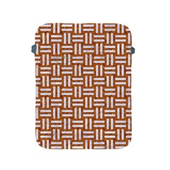 Woven1 White Marble & Rusted Metal Apple Ipad 2/3/4 Protective Soft Cases