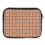 WOVEN1 WHITE MARBLE & RUSTED METAL Apple iPad 2/3/4 Zipper Cases Front