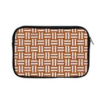 WOVEN1 WHITE MARBLE & RUSTED METAL Apple iPad Mini Zipper Cases Front