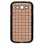 WOVEN1 WHITE MARBLE & RUSTED METAL Samsung Galaxy Grand DUOS I9082 Case (Black) Front