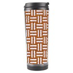 WOVEN1 WHITE MARBLE & RUSTED METAL Travel Tumbler Center