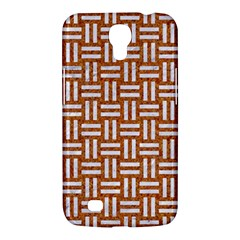 Woven1 White Marble & Rusted Metal Samsung Galaxy Mega 6 3  I9200 Hardshell Case