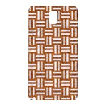 WOVEN1 WHITE MARBLE & RUSTED METAL Samsung Galaxy Note 3 N9005 Hardshell Back Case Front