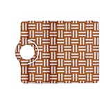 WOVEN1 WHITE MARBLE & RUSTED METAL Kindle Fire HD (2013) Flip 360 Case Front