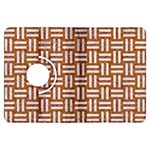 WOVEN1 WHITE MARBLE & RUSTED METAL Kindle Fire HDX Flip 360 Case Front