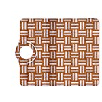 WOVEN1 WHITE MARBLE & RUSTED METAL Kindle Fire HDX 8.9  Flip 360 Case Front