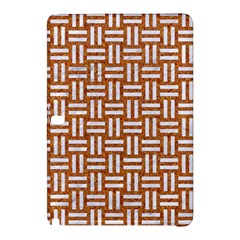 Woven1 White Marble & Rusted Metal Samsung Galaxy Tab Pro 10 1 Hardshell Case