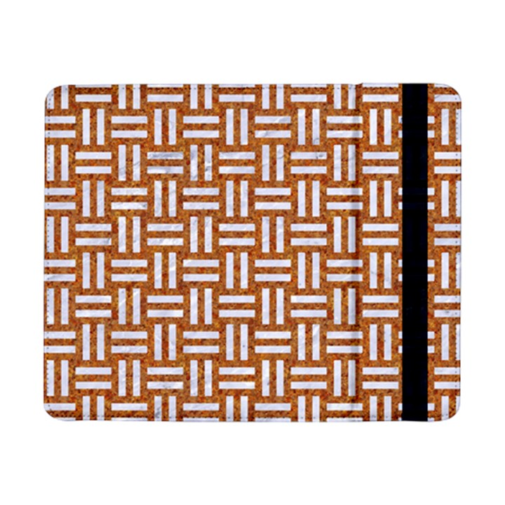 WOVEN1 WHITE MARBLE & RUSTED METAL Samsung Galaxy Tab Pro 8.4  Flip Case