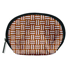 Woven1 White Marble & Rusted Metal Accessory Pouches (medium)