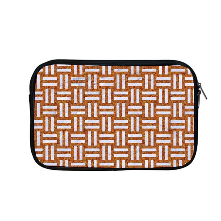 WOVEN1 WHITE MARBLE & RUSTED METAL Apple MacBook Pro 13  Zipper Case