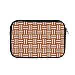 WOVEN1 WHITE MARBLE & RUSTED METAL Apple MacBook Pro 15  Zipper Case Front