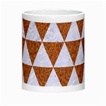 TRIANGLE3 WHITE MARBLE & RUSTED METAL Morph Mugs Center